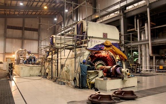 Góp sức đưa tổ máy số 1 của Nhà máy Nhiệt điện Cẩm Phả trở lại hoạt động.